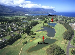 This is the best overview I have of the 18th hole