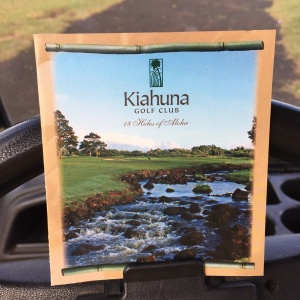 It promises … and delivers … 18 holes of Aloha.