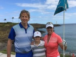 Lisa Longball on the Ocean Course at Hokuala on Kauai