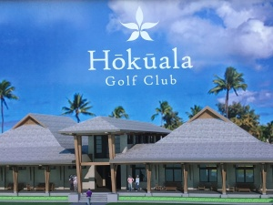 Rendering of the new clubhouse planned at Hokuala